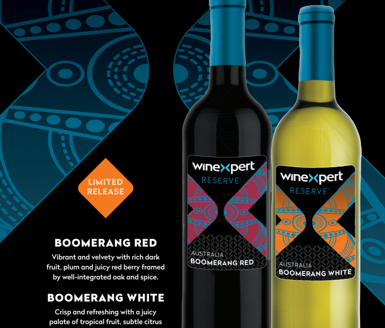 Limited Release Boomerang Red and White available June 15, 2020!